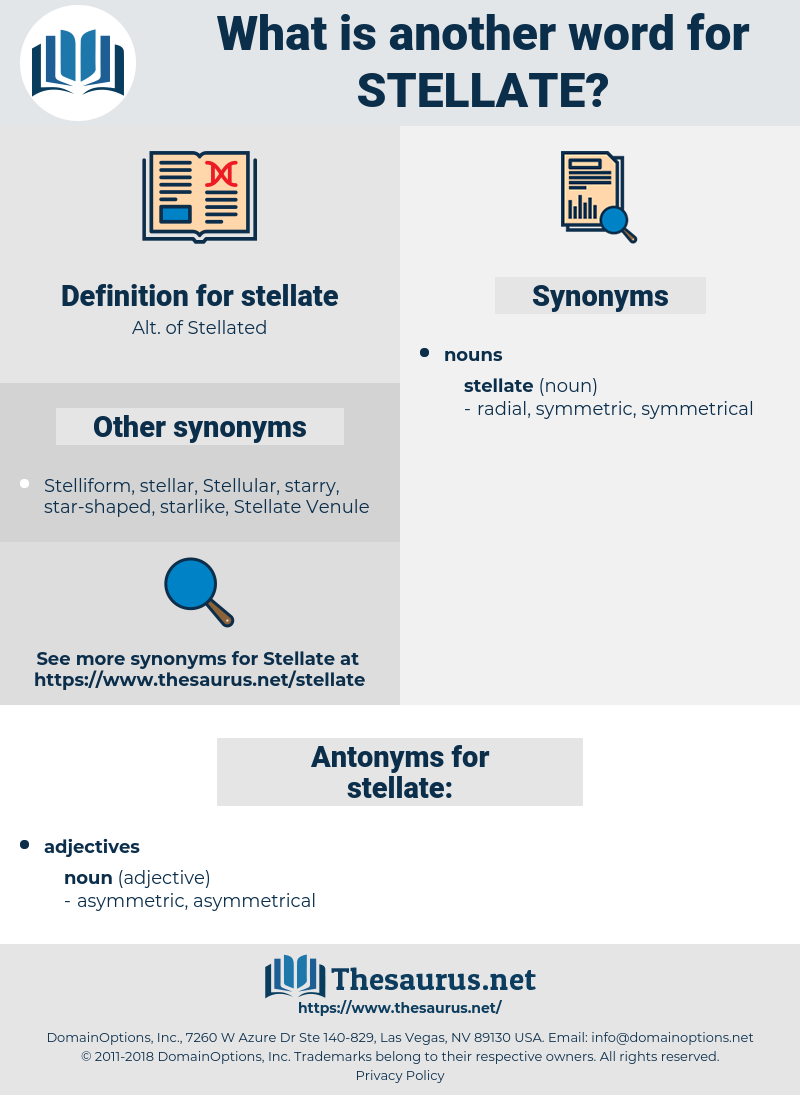 stellate, synonym stellate, another word for stellate, words like stellate, thesaurus stellate