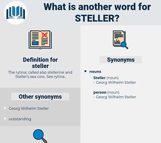 steller, synonym steller, another word for steller, words like steller, thesaurus steller
