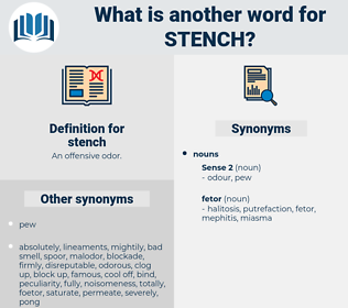stench, synonym stench, another word for stench, words like stench, thesaurus stench