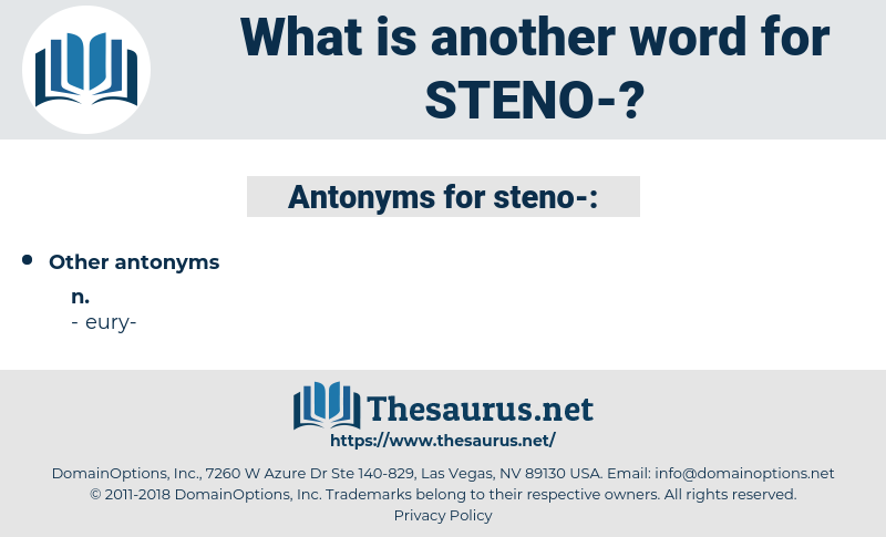 Steno, synonym Steno, another word for Steno, words like Steno, thesaurus Steno