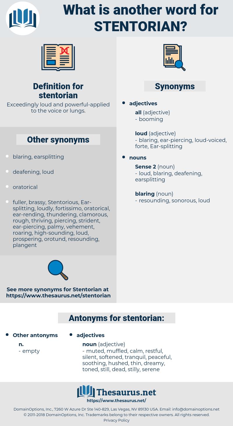stentorian, synonym stentorian, another word for stentorian, words like stentorian, thesaurus stentorian