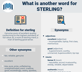 sterling, synonym sterling, another word for sterling, words like sterling, thesaurus sterling