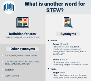 stew, synonym stew, another word for stew, words like stew, thesaurus stew
