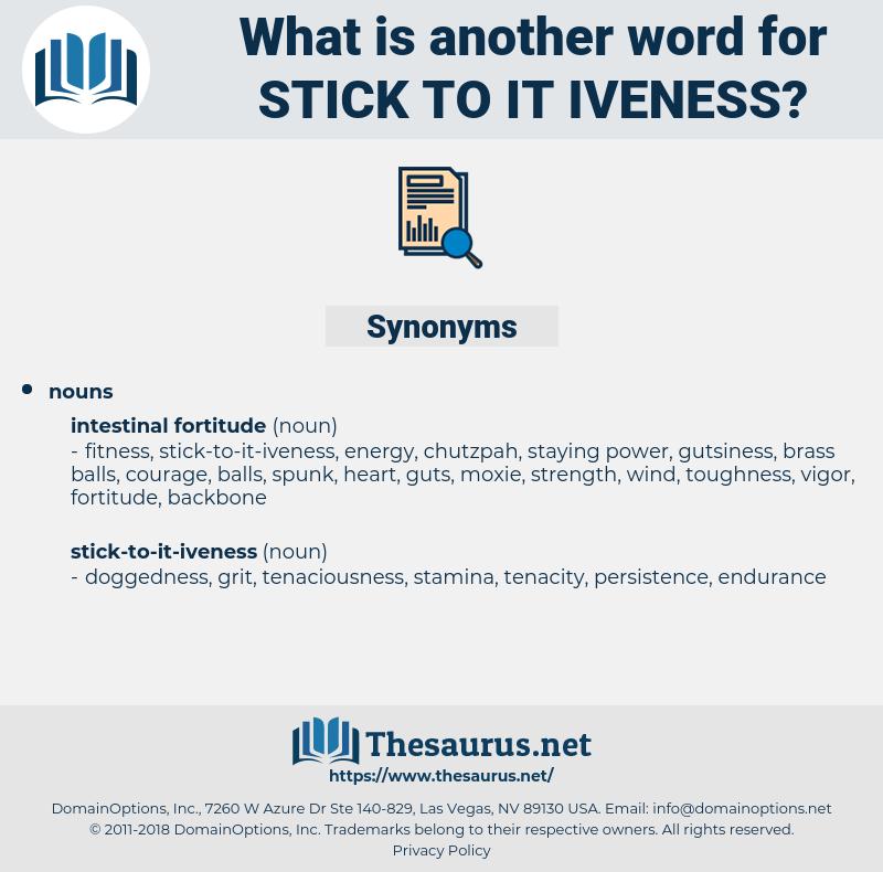 stick-to-it-iveness, synonym stick-to-it-iveness, another word for stick-to-it-iveness, words like stick-to-it-iveness, thesaurus stick-to-it-iveness