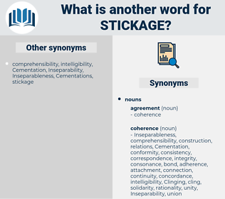 stickage, synonym stickage, another word for stickage, words like stickage, thesaurus stickage