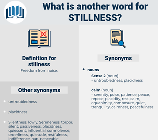 stillness, synonym stillness, another word for stillness, words like stillness, thesaurus stillness
