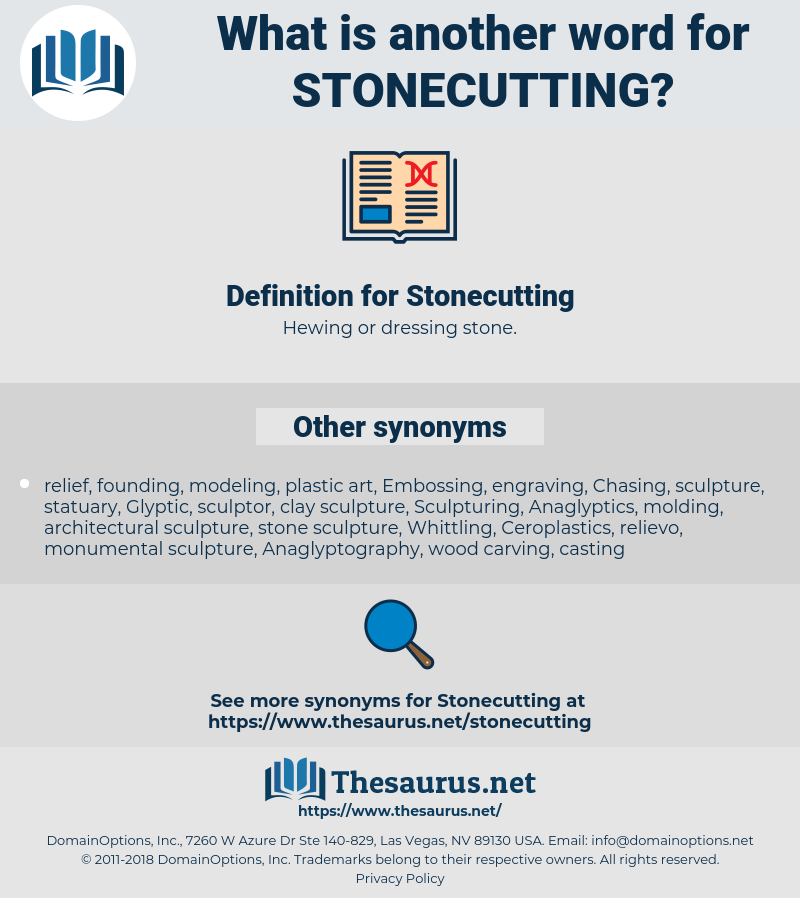 Stonecutting, synonym Stonecutting, another word for Stonecutting, words like Stonecutting, thesaurus Stonecutting