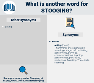 stooging, synonym stooging, another word for stooging, words like stooging, thesaurus stooging