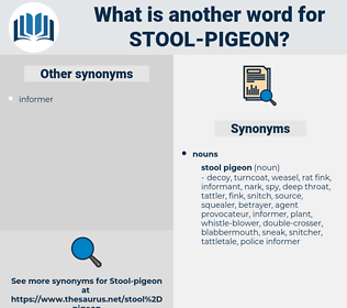 stool-pigeon, synonym stool-pigeon, another word for stool-pigeon, words like stool-pigeon, thesaurus stool-pigeon