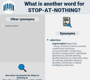 stop at nothing, synonym stop at nothing, another word for stop at nothing, words like stop at nothing, thesaurus stop at nothing