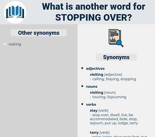 stopping over, synonym stopping over, another word for stopping over, words like stopping over, thesaurus stopping over