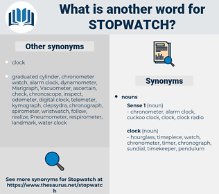 stopwatch, synonym stopwatch, another word for stopwatch, words like stopwatch, thesaurus stopwatch