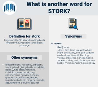 stork, synonym stork, another word for stork, words like stork, thesaurus stork
