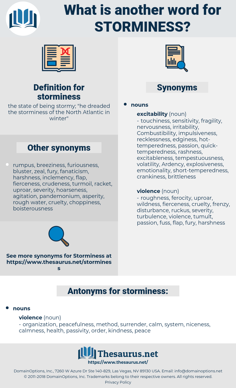 storminess, synonym storminess, another word for storminess, words like storminess, thesaurus storminess
