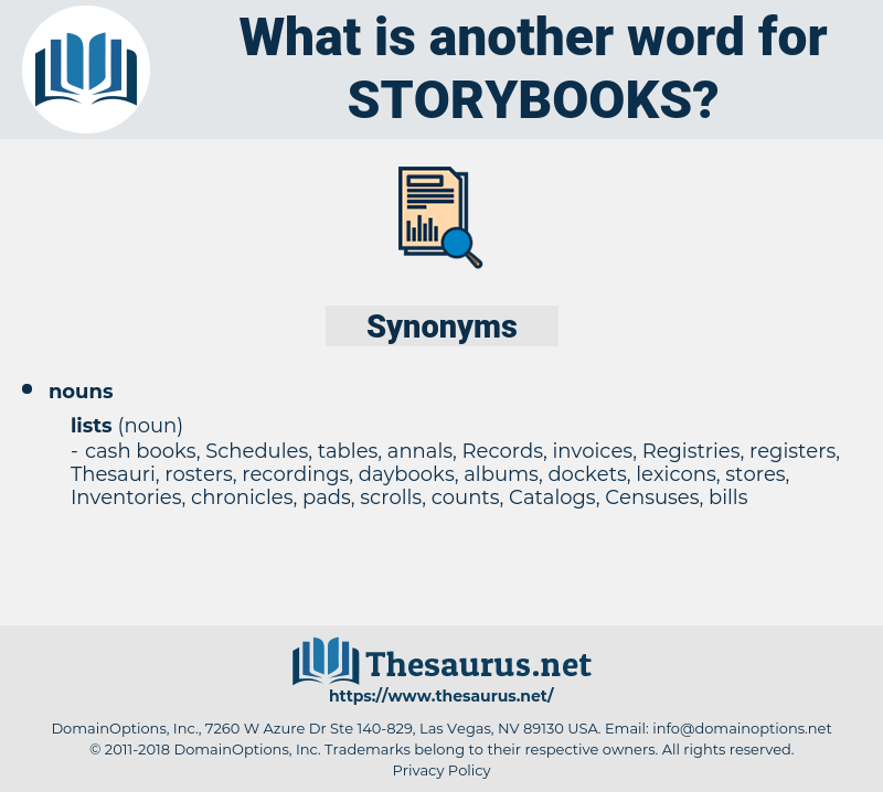 storybooks, synonym storybooks, another word for storybooks, words like storybooks, thesaurus storybooks