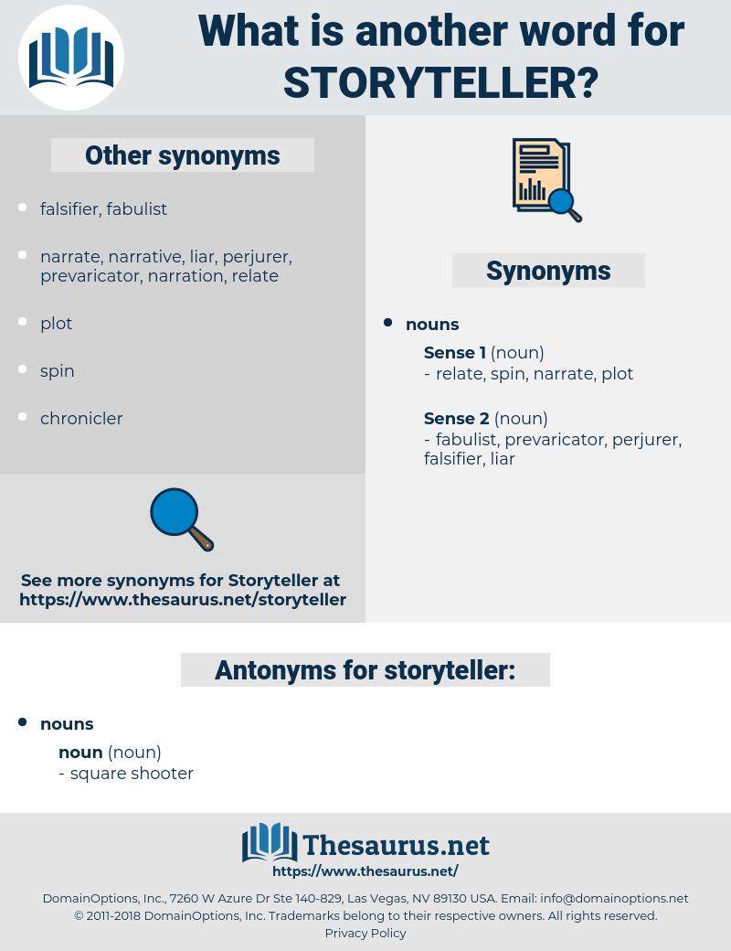 storyteller, synonym storyteller, another word for storyteller, words like storyteller, thesaurus storyteller