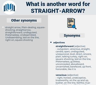 straight arrow, synonym straight arrow, another word for straight arrow, words like straight arrow, thesaurus straight arrow