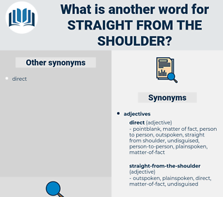 straight-from-the-shoulder, synonym straight-from-the-shoulder, another word for straight-from-the-shoulder, words like straight-from-the-shoulder, thesaurus straight-from-the-shoulder