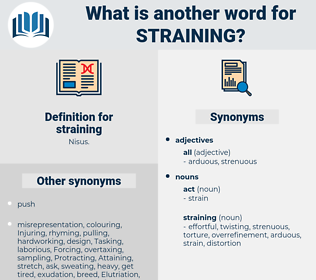straining, synonym straining, another word for straining, words like straining, thesaurus straining