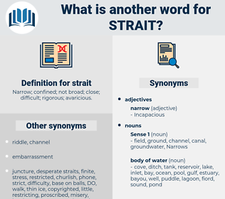 strait, synonym strait, another word for strait, words like strait, thesaurus strait