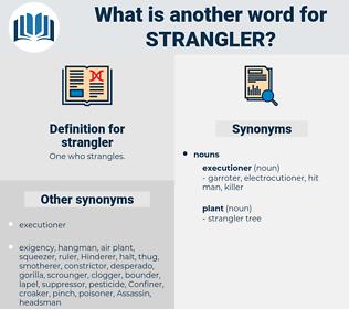 strangler, synonym strangler, another word for strangler, words like strangler, thesaurus strangler