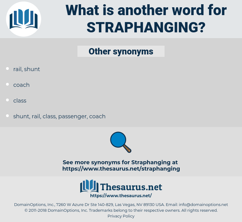 straphanging, synonym straphanging, another word for straphanging, words like straphanging, thesaurus straphanging