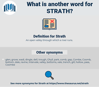 Strath, synonym Strath, another word for Strath, words like Strath, thesaurus Strath