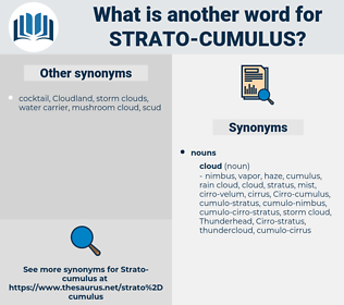 Strato-cumulus, synonym Strato-cumulus, another word for Strato-cumulus, words like Strato-cumulus, thesaurus Strato-cumulus