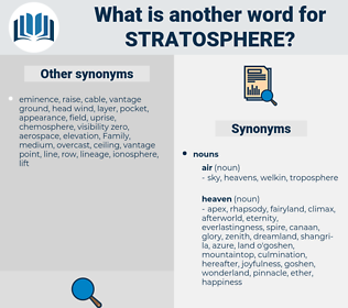 stratosphere, synonym stratosphere, another word for stratosphere, words like stratosphere, thesaurus stratosphere