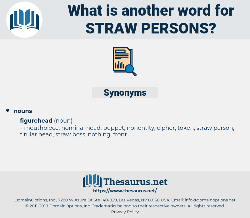 straw persons, synonym straw persons, another word for straw persons, words like straw persons, thesaurus straw persons