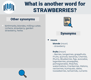 strawberries, synonym strawberries, another word for strawberries, words like strawberries, thesaurus strawberries