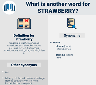 strawberry, synonym strawberry, another word for strawberry, words like strawberry, thesaurus strawberry