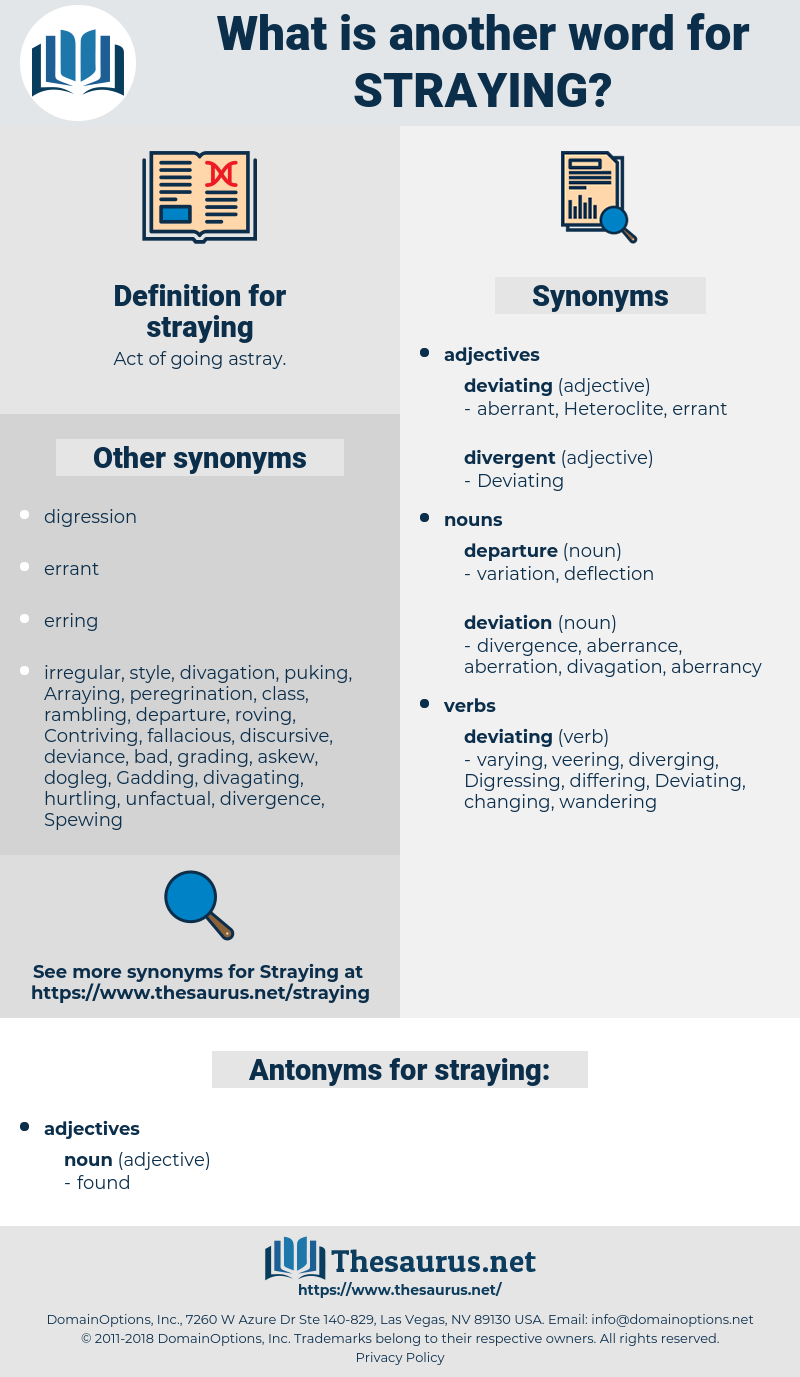 straying, synonym straying, another word for straying, words like straying, thesaurus straying