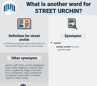 street urchin, synonym street urchin, another word for street urchin, words like street urchin, thesaurus street urchin