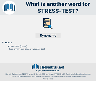 stress test, synonym stress test, another word for stress test, words like stress test, thesaurus stress test
