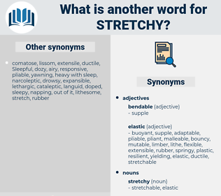 stretchy, synonym stretchy, another word for stretchy, words like stretchy, thesaurus stretchy