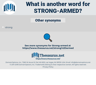 strong-armed, synonym strong-armed, another word for strong-armed, words like strong-armed, thesaurus strong-armed