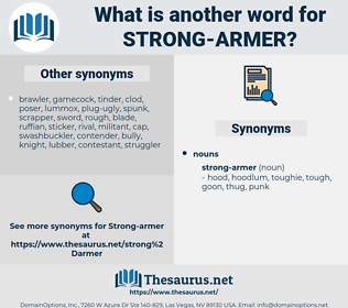 strong-armer, synonym strong-armer, another word for strong-armer, words like strong-armer, thesaurus strong-armer