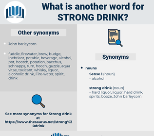 strong drink, synonym strong drink, another word for strong drink, words like strong drink, thesaurus strong drink