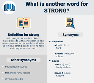strong, synonym strong, another word for strong, words like strong, thesaurus strong