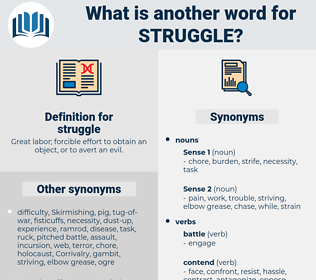 struggle, synonym struggle, another word for struggle, words like struggle, thesaurus struggle