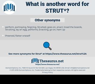 strut, synonym strut, another word for strut, words like strut, thesaurus strut