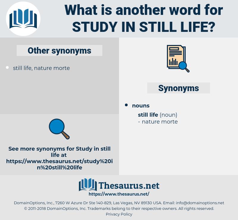 study in still life, synonym study in still life, another word for study in still life, words like study in still life, thesaurus study in still life