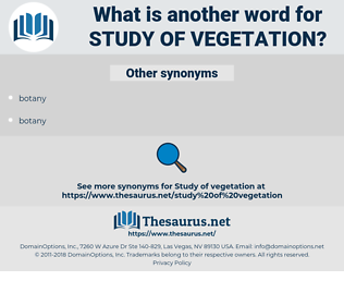 study of vegetation, synonym study of vegetation, another word for study of vegetation, words like study of vegetation, thesaurus study of vegetation