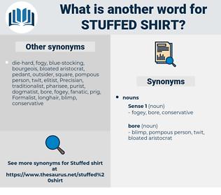 stuffed shirt, synonym stuffed shirt, another word for stuffed shirt, words like stuffed shirt, thesaurus stuffed shirt