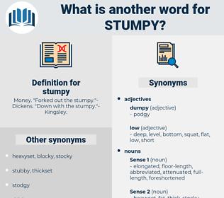 stumpy, synonym stumpy, another word for stumpy, words like stumpy, thesaurus stumpy
