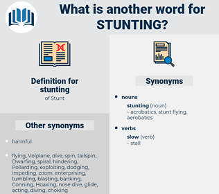stunting, synonym stunting, another word for stunting, words like stunting, thesaurus stunting