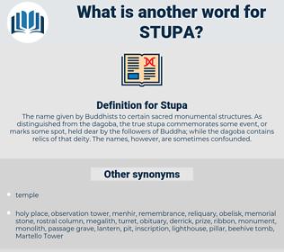 Stupa, synonym Stupa, another word for Stupa, words like Stupa, thesaurus Stupa