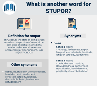 stupor, synonym stupor, another word for stupor, words like stupor, thesaurus stupor