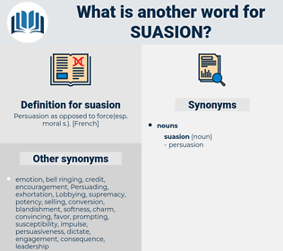 suasion, synonym suasion, another word for suasion, words like suasion, thesaurus suasion